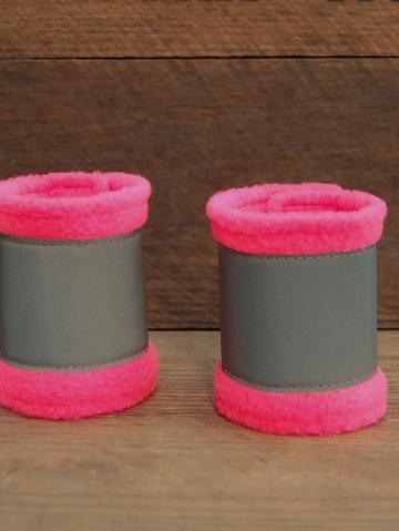Reflexbandagen Minishetty, neonpink