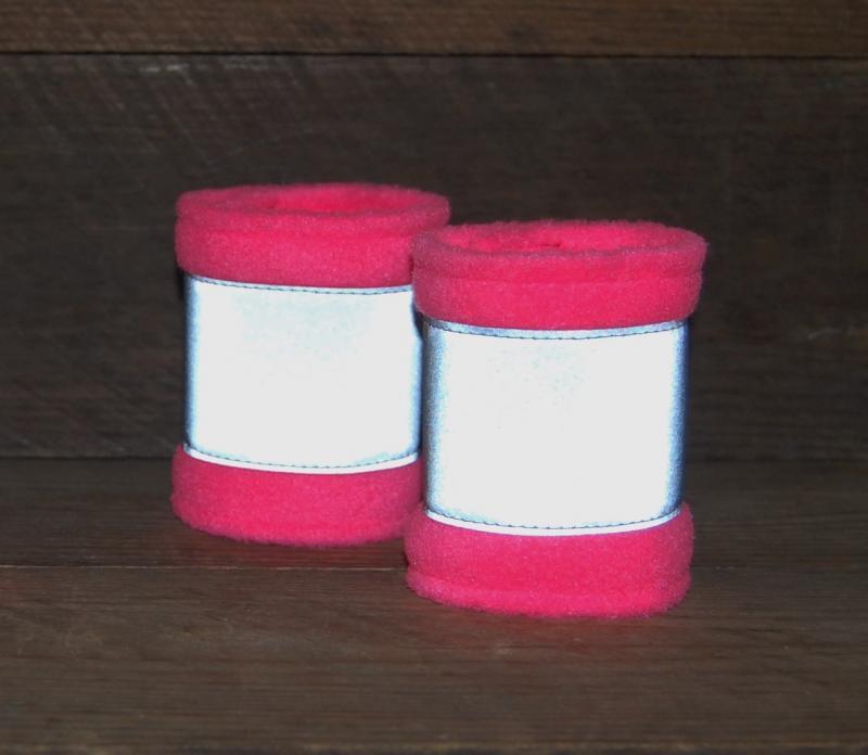 Reflexbandagen Shetty neonpink