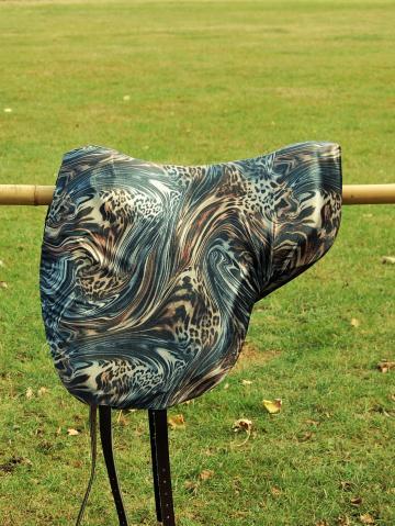 Schonbezug Brockamp Reitpad Samt marmoriert