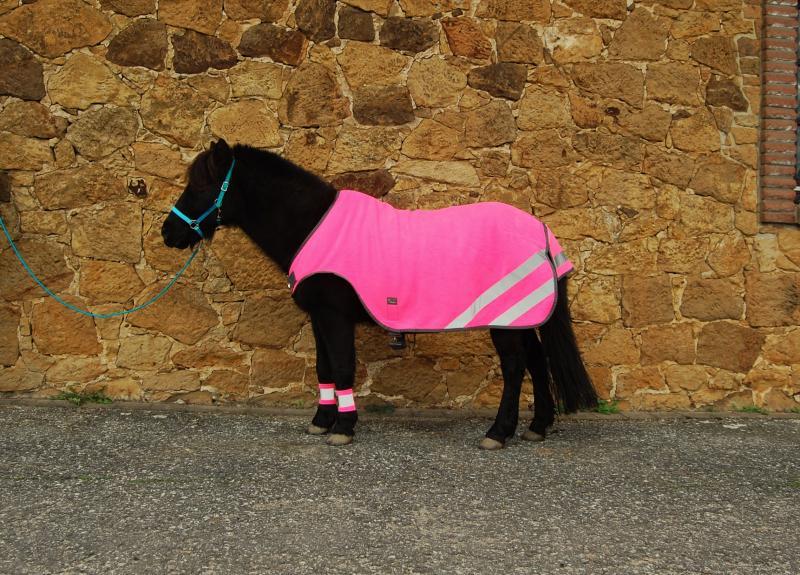 Fleece Walker Shetty neonpink