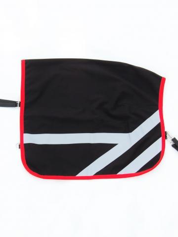Fahrdecke Shetty Softshell schwarz