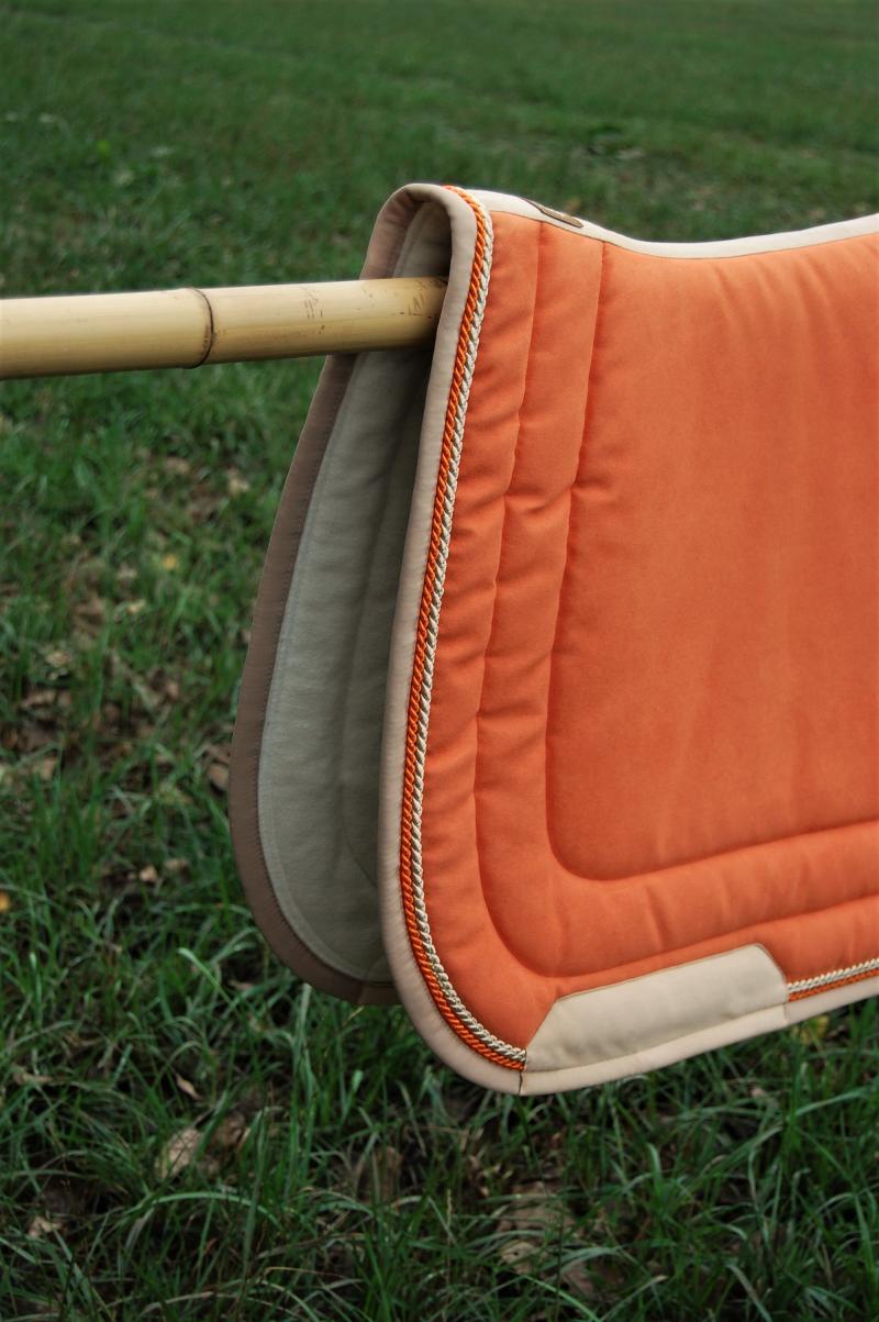 Dressurschabracke orange