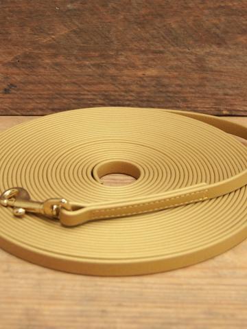Schleppleine Biothane 10 m , gold