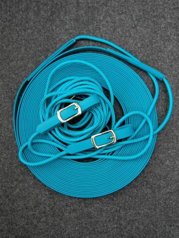 Doppellonge Seil-Biothane petrol