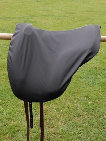 Schonbezug Brockamp Reitpad schwarz matt